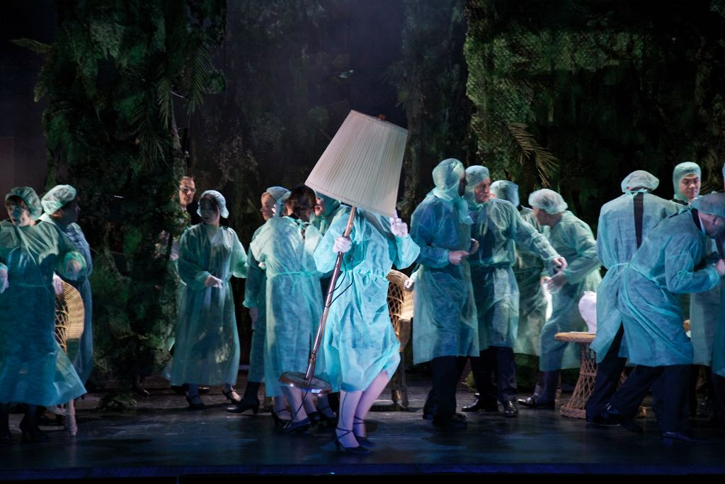THE RAKES PROGRESS (Igor Stravinsky) • Theater Koblenz • ML: Enrico Delamboye | R: Gabriele Wiesmüller | B: Volker Thiele | K: Lisa Kentner